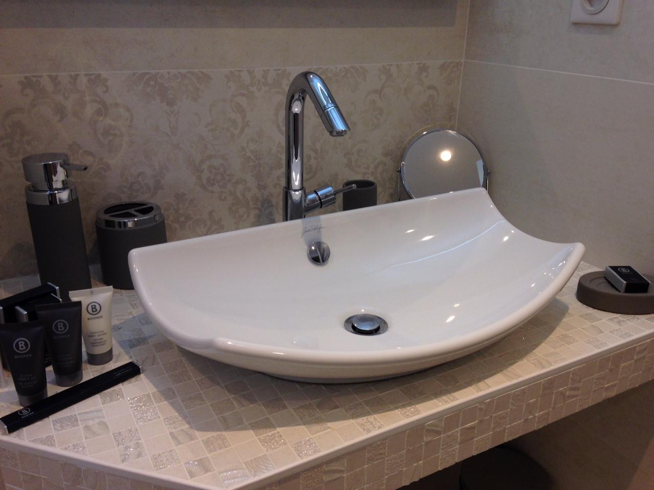 Champagne Bathroom Suite Room A Les Mille Et Une Bulles A